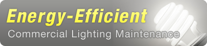 Energy Efficient Commercial Lighting Maintenance
